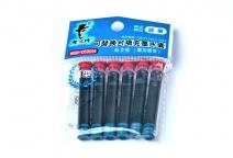 老板牌可填充式6支装墨水囊MSN-506